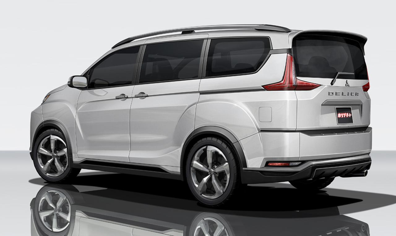 2018 Mitsubishi Delica Previewed By Concept Heading to Tokyo Motor Show - autoevolution