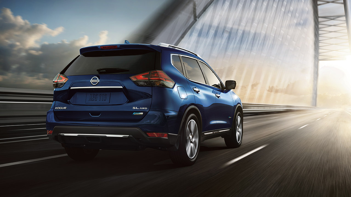 2018 nissan rogue hybrid rated 34 mpg combined priced at. Black Bedroom Furniture Sets. Home Design Ideas