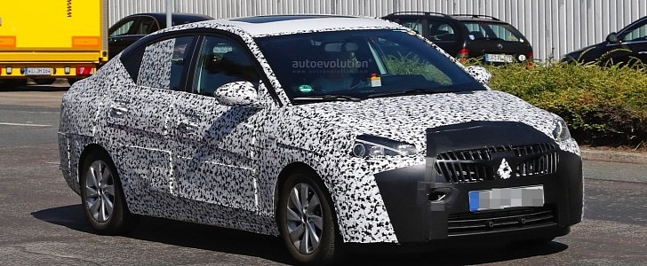 Opel Corsa F >> 2018 Opel Corsa F Sedan Spied, To Be Launched in China as Chevrolet / Buick Sail - autoevolution