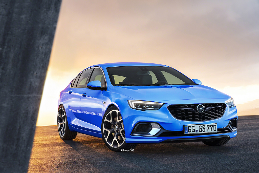2018 Opel Insignia Grand Sport Opc Rendered To Get Turbo Engine