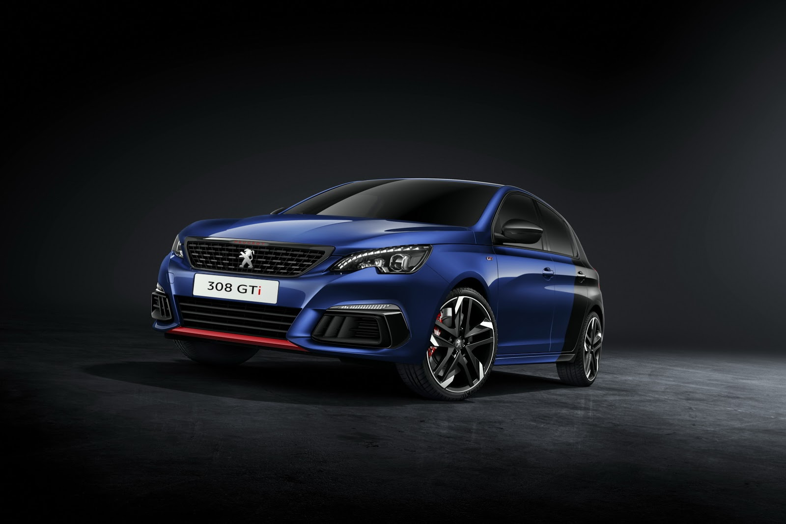2018 peugeot 308 gti finally shows its facelift in detail autoevolution. Black Bedroom Furniture Sets. Home Design Ideas