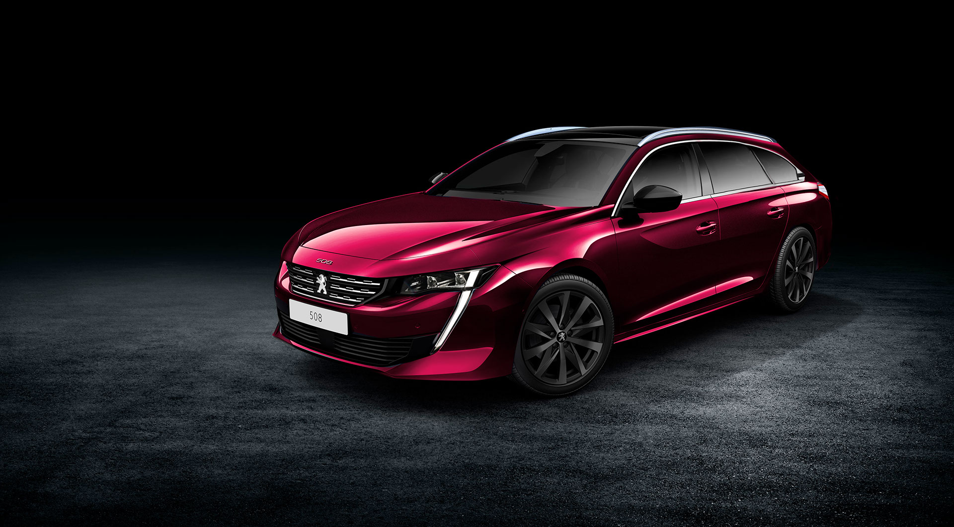 2018 peugeot 508 sw teased online debut imminent autoevolution. Black Bedroom Furniture Sets. Home Design Ideas