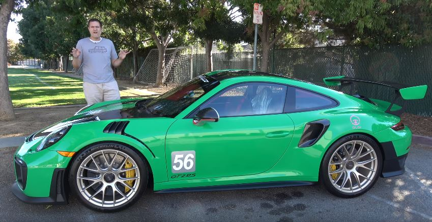 2018 Porsche 911 Gt2 Rs Is Crazier Than The 911 Gt1 Doug