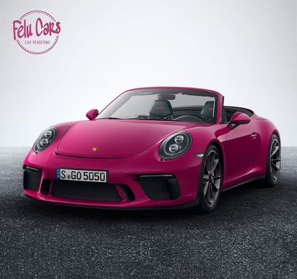 Porsche 911 Cabriolet: 2018 Porsche 911 GT3 Cabriolet Rendered As A 911 Speedster