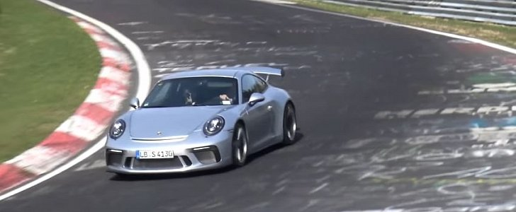 2018 porsche 911 gt3 laps nurburgring could beat gt3 rs with sub 7 20 time. Black Bedroom Furniture Sets. Home Design Ideas