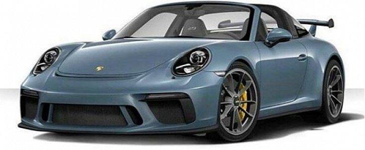 2018 Porsche 911 Targa Gt3 Rendered As The Forbidden
