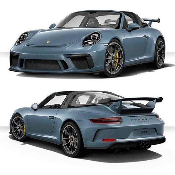 Porsche 911 Targa: 2018 Porsche 911 Targa GT3 Rendered As The Forbidden