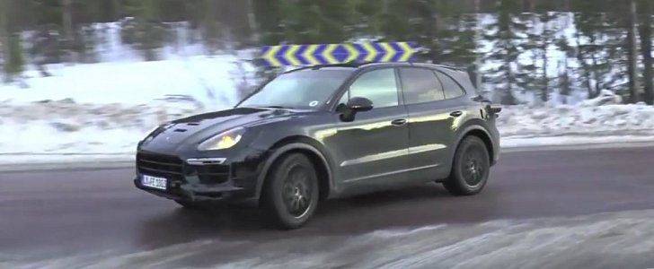 2018 porsche cayenne spied confirmed to spawn 680 hp - Super sayenne ...