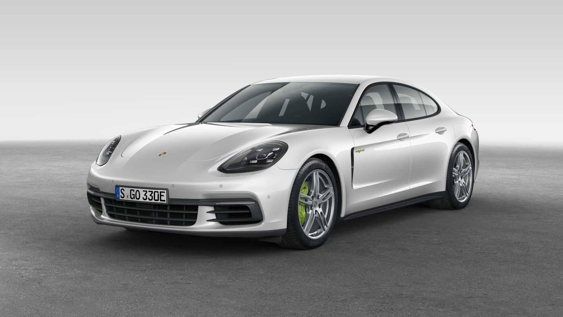 2018 porsche panamera 4 e hybrid unveiled uses 2 9l twin. Black Bedroom Furniture Sets. Home Design Ideas