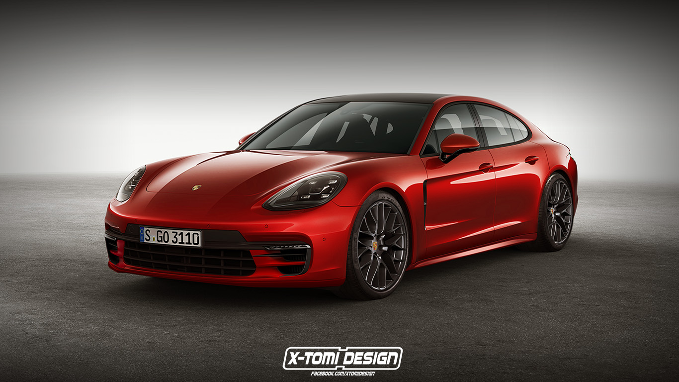 Panamera Gts 2018 >> 2018 Porsche Panamera Gts Rendering Is Red Signals Things To Come