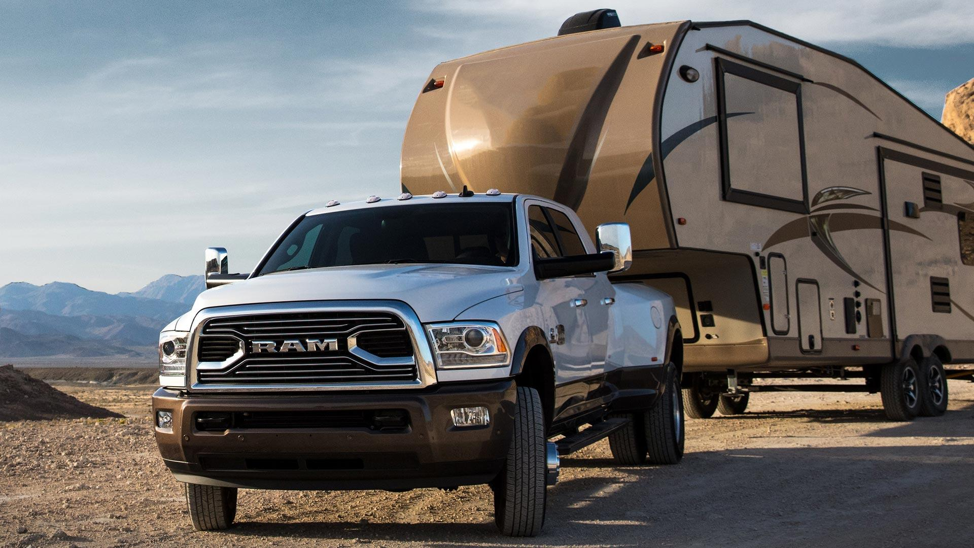 Ram 3500 HD can tow up to 30000 lbs