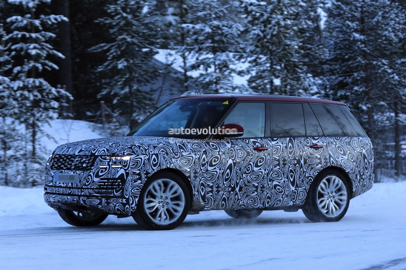 land rover defender 2018 spy shots. contemporary defender pics incoming 2018 range rover  intended land rover defender spy shots