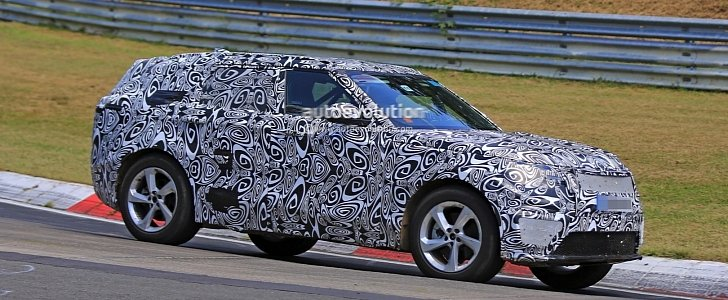 2018 Range Rover Sport Coupe Spied Testing On the Nurburgring