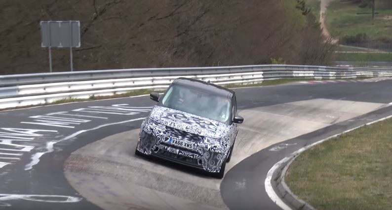 2018 Range Rover Sport SVR Laps Nurburgring, Facelift Could Bring