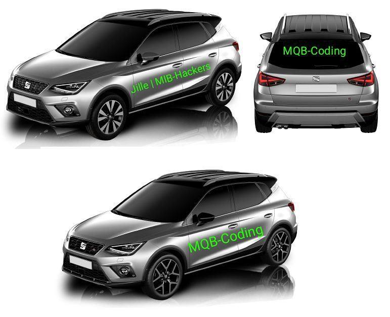 2018 seat arona looks predictably good in leaked photos autoevolution. Black Bedroom Furniture Sets. Home Design Ideas