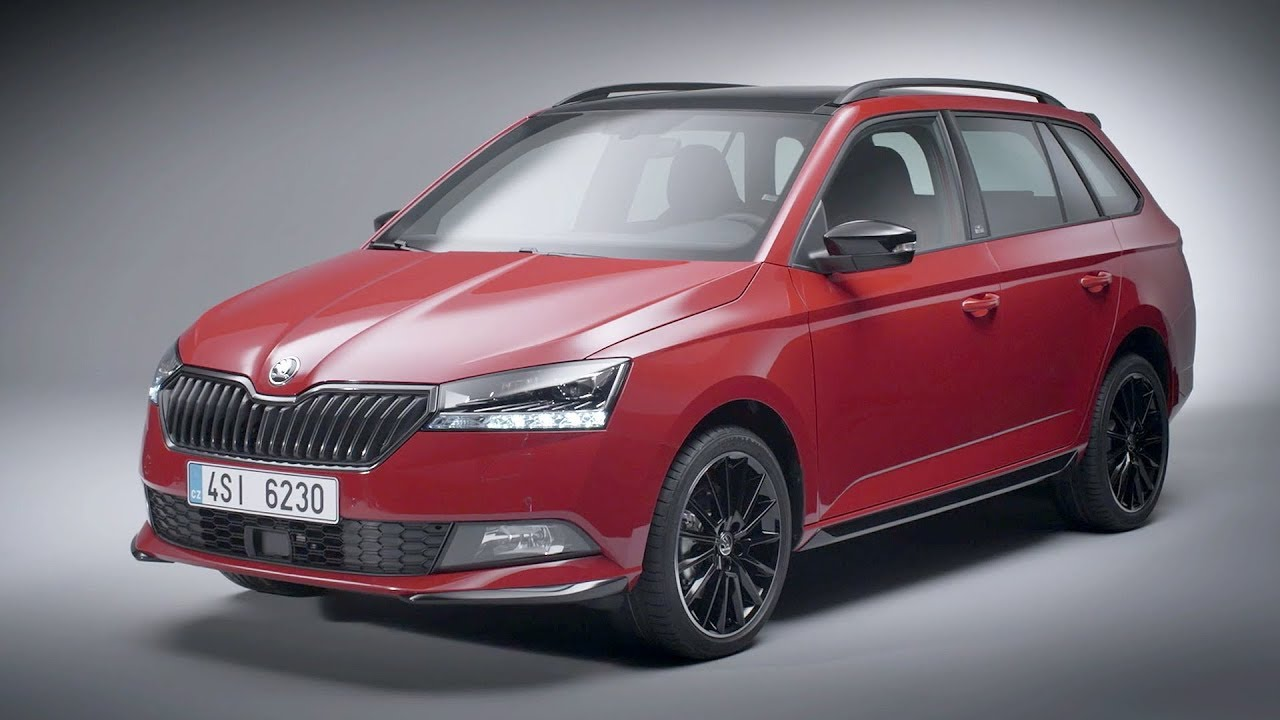 2018 skoda fabia hatch and combi shows strange headlights in new videos autoevolution. Black Bedroom Furniture Sets. Home Design Ideas