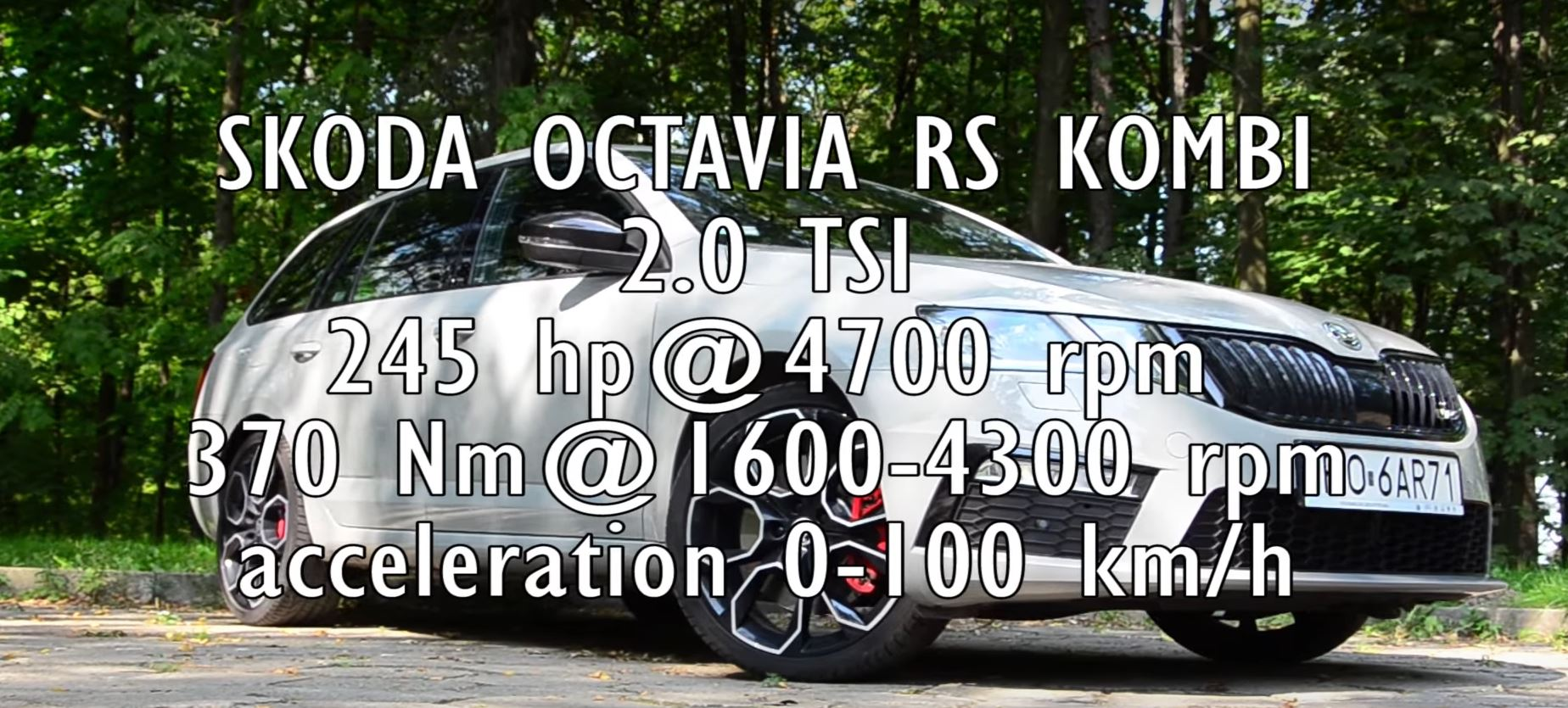 2018 Skoda Octavia Rs 245 Acceleration Test 0 To 100 Km H In 6 4 Seconds Autoevolution