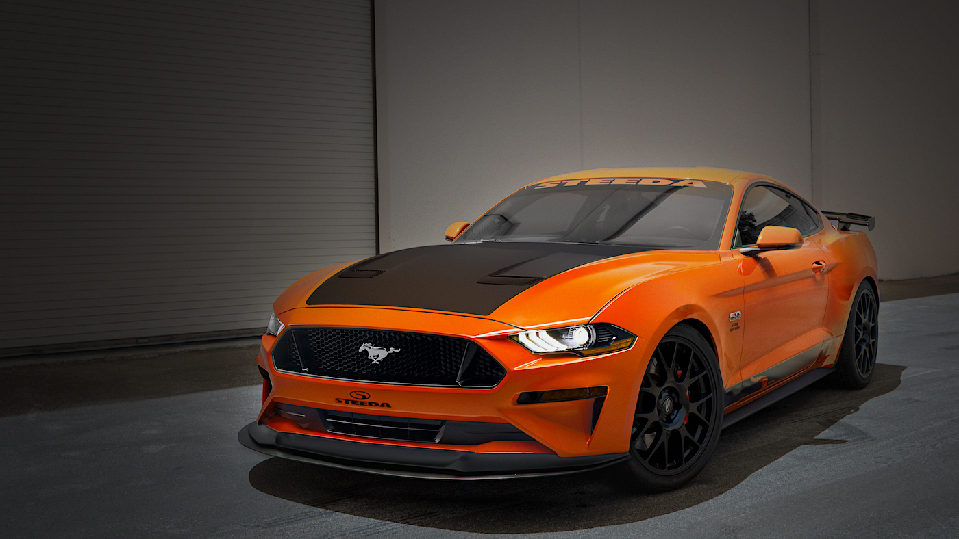 2018 Steeda Q-Series Mustang Goes Official With Performance and Visual Upgrades - autoevolution