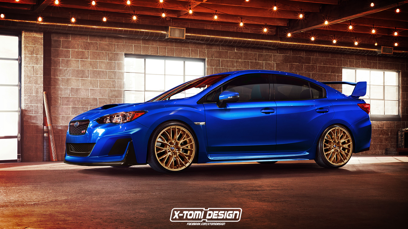 2018 Subaru Impreza Wrx Sti Might Look Like This Autoevolution
