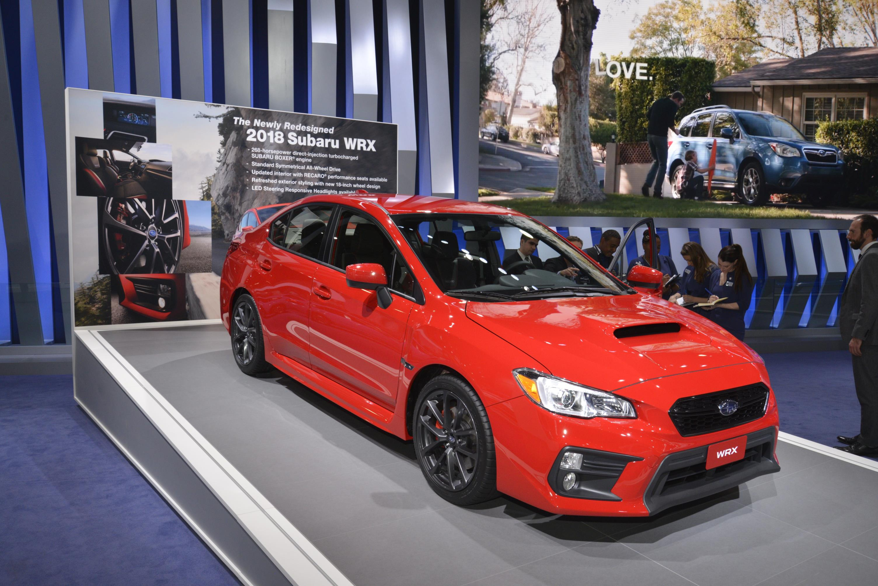 14 Photos 2018 Subaru Wrx And Sti