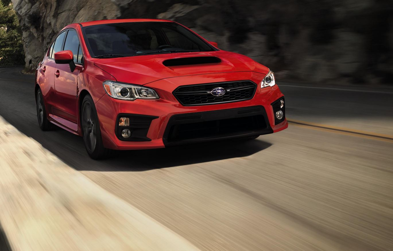 2018 Subaru Wrx Sti Get Refresh And New Features