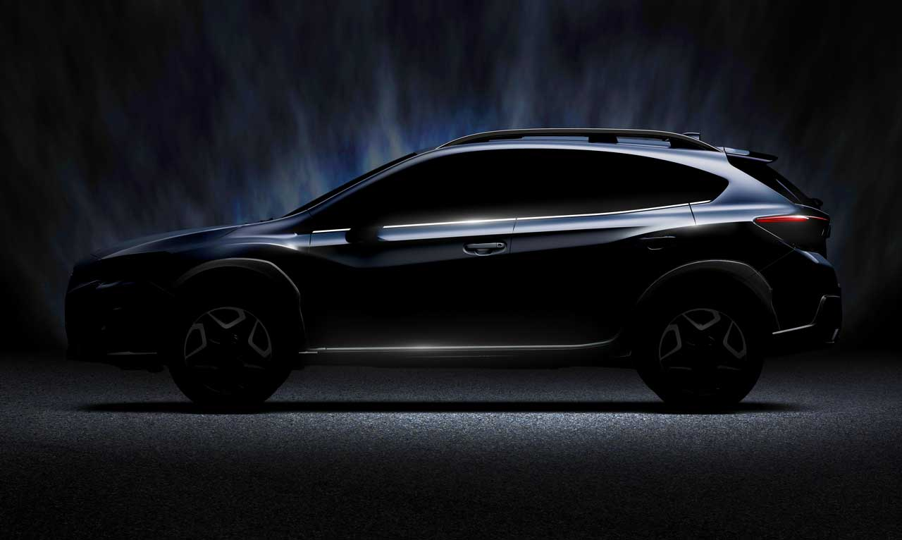 2018 subaru global platform.  global 2018 subaru xv teaser  throughout subaru global platform