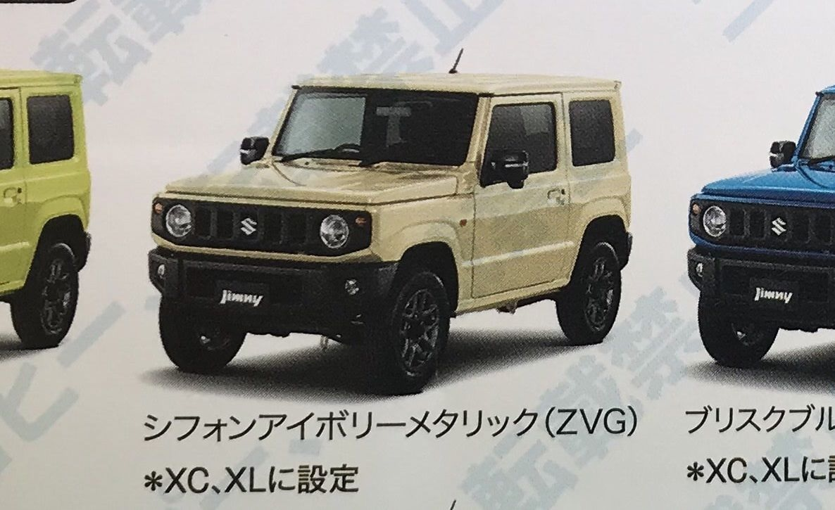 2018 suzuki jimny launching in july autoevolution. Black Bedroom Furniture Sets. Home Design Ideas