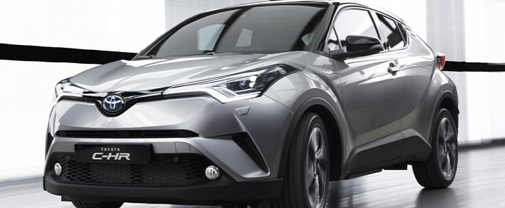 2018 Toyota C Hr To Set Foot On American Soil Next Spring Autoevolution