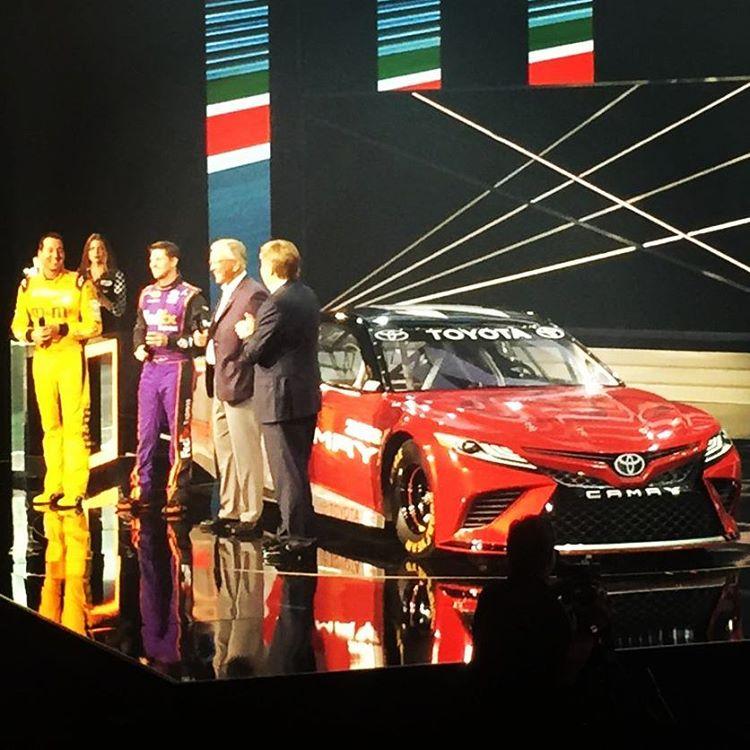 2018 Toyota Camry Design Partially Revealed By Next Gen Nascar Racecar