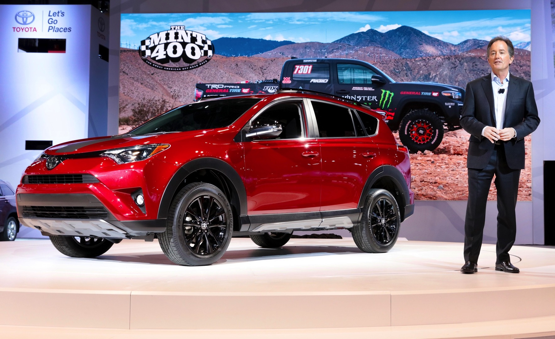 2018 toyota rav4 adds adventure trim level autoevolution. Black Bedroom Furniture Sets. Home Design Ideas