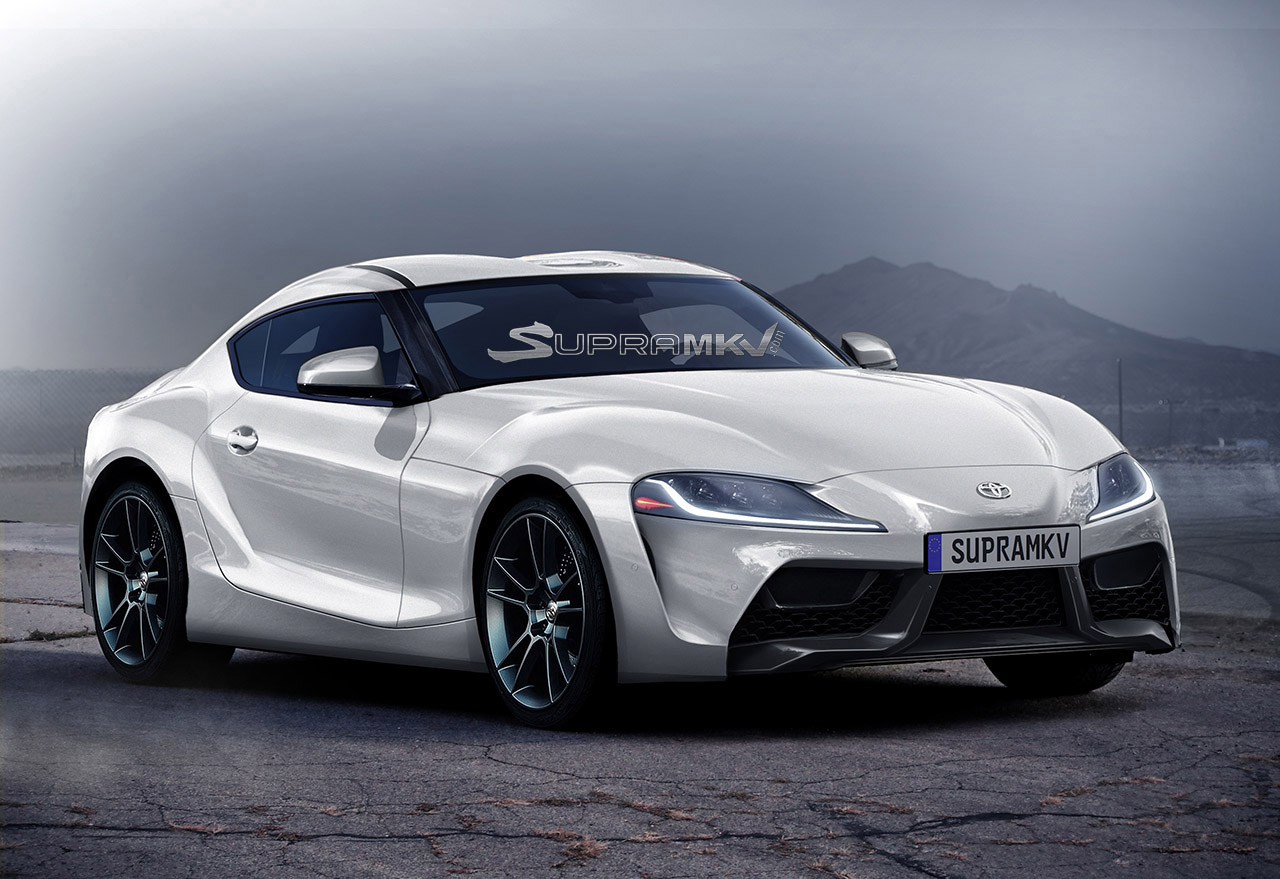 2018 Toyota Supra Renderings Seem Spot On Show F1 Car Nose Autoevolution