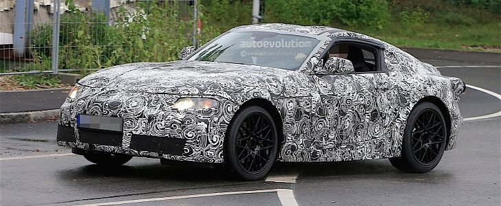 2018 toyota supra. Fine Toyota 2018 Toyota Supra Spied Testing In Germany Expect It Showrooms Next  Year  Autoevolution To Toyota Supra