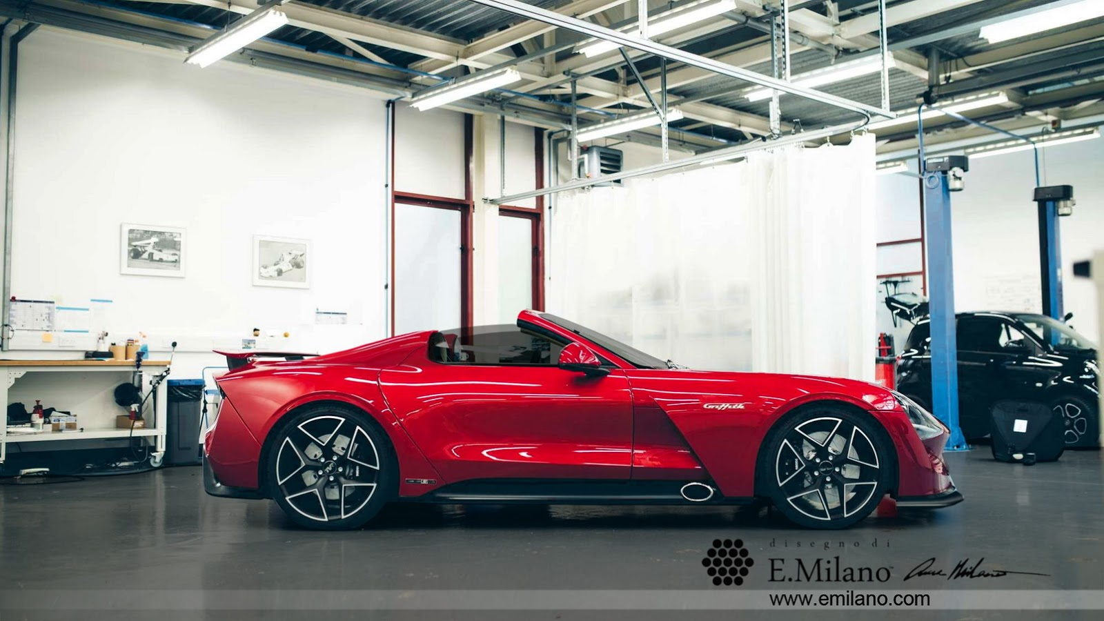 2018 Tvr Griffith Convertible Rendering Looks Tantalizing