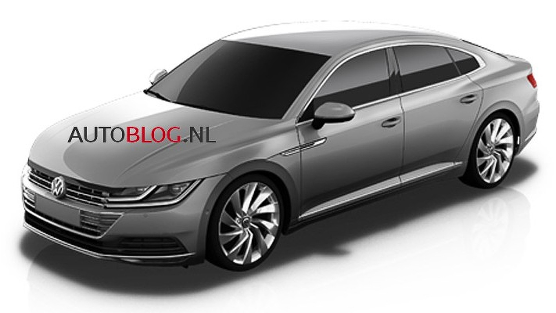 2018 volkswagen cc photos leaked follow same design as golf facelift autoevolution. Black Bedroom Furniture Sets. Home Design Ideas