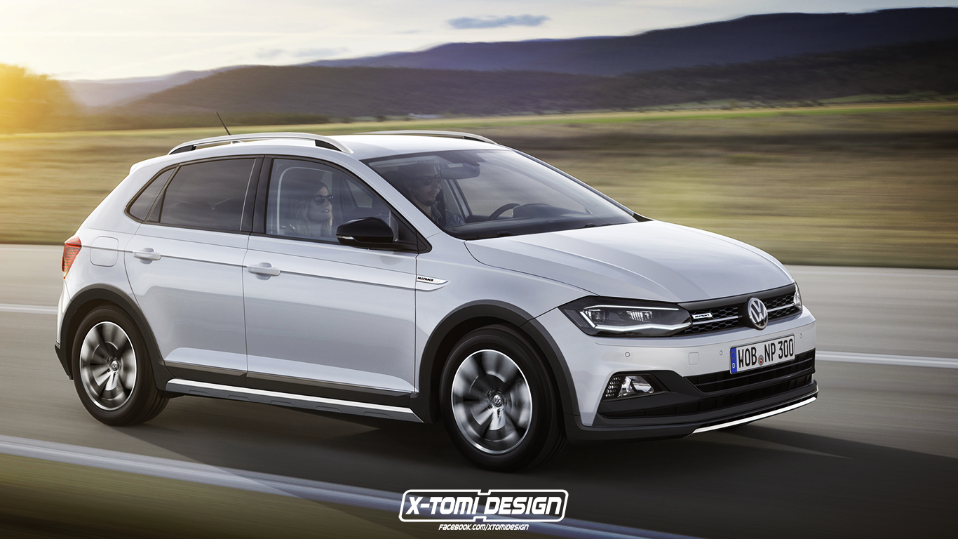 2018 Volkswagen Polo Alltrack Sedan And Variant Rendered