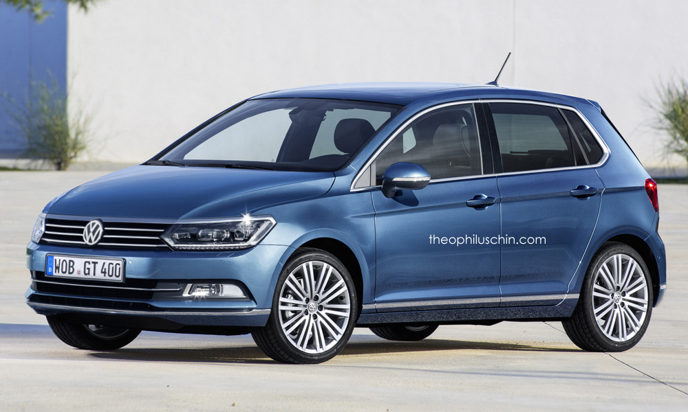 2018 Volkswagen Polo Rendered For No Reason Looks Too