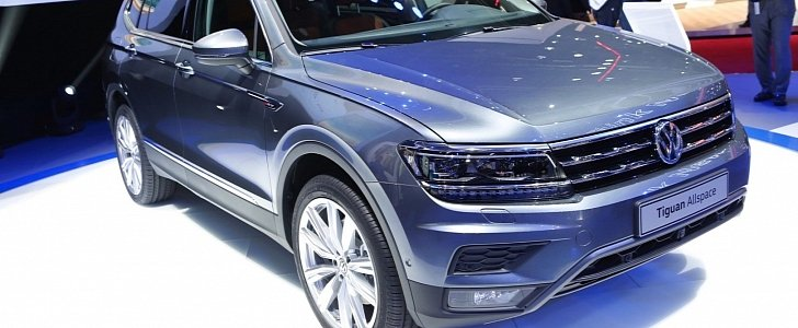 2018 volkswagen tiguan allspace specs options and prices autoevolution. Black Bedroom Furniture Sets. Home Design Ideas