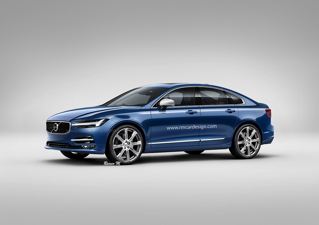 2018 Volvo S60 Rendering Looks Good Enough To