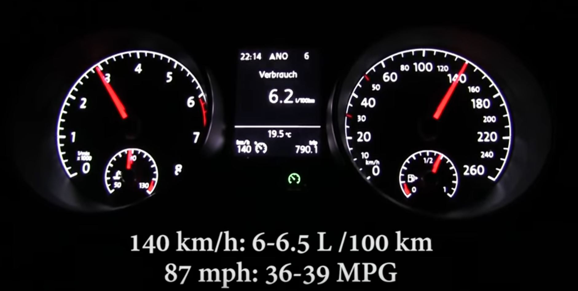 2018 VW Golf 1 0 TSI 110 HP Acceleration and Full