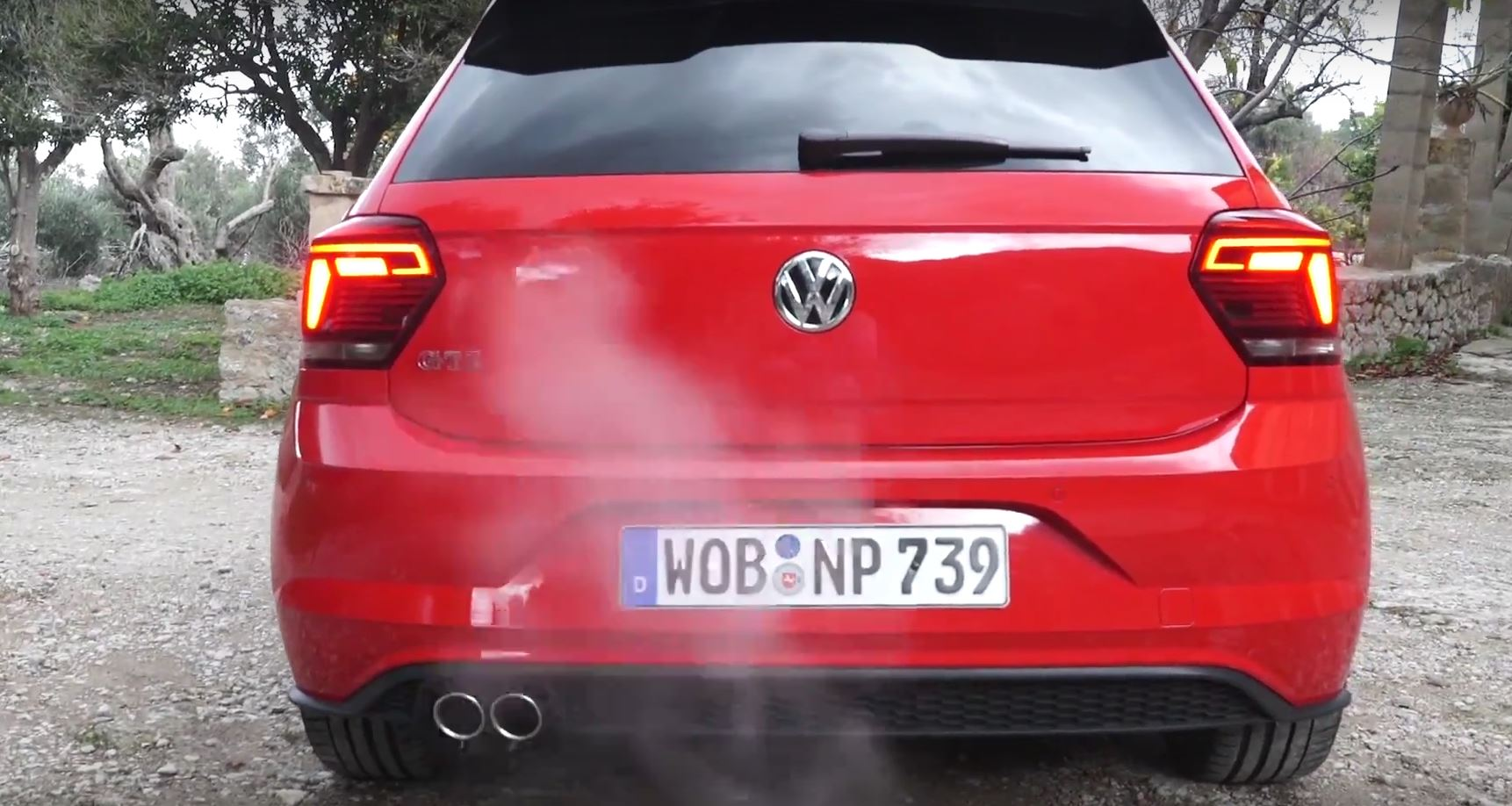 2018 vw polo gti launch control and exhaust sound put to. Black Bedroom Furniture Sets. Home Design Ideas
