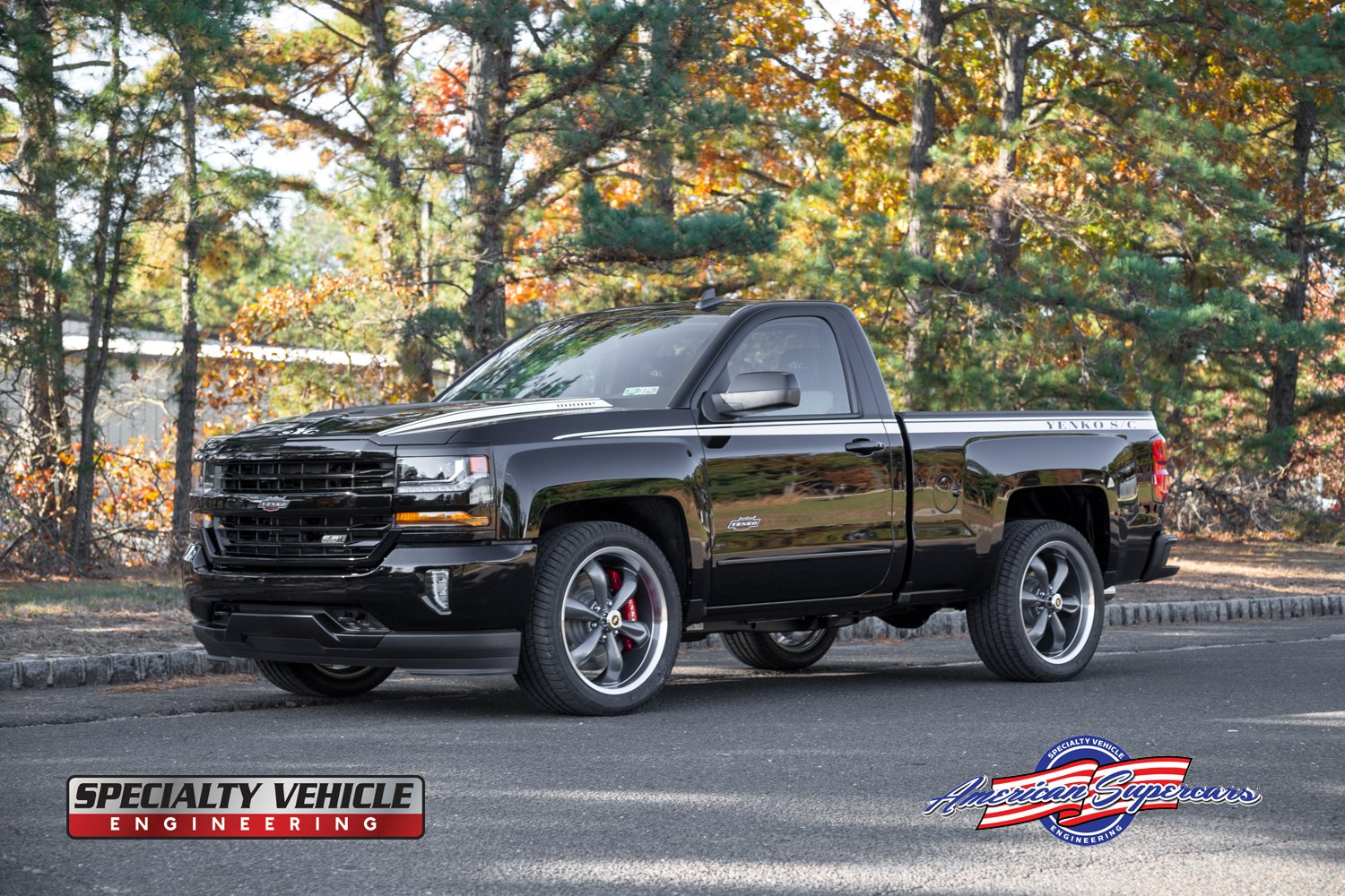 800-horsepower 2018 Yenko Silverado Is Not Your Average ...