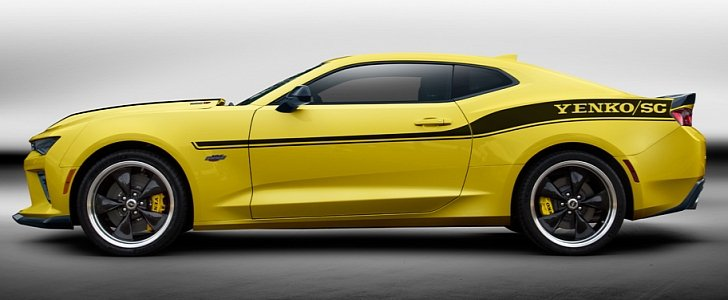 2018 Yenko Stage Ii Camaro Means Business Thanks To 1 000
