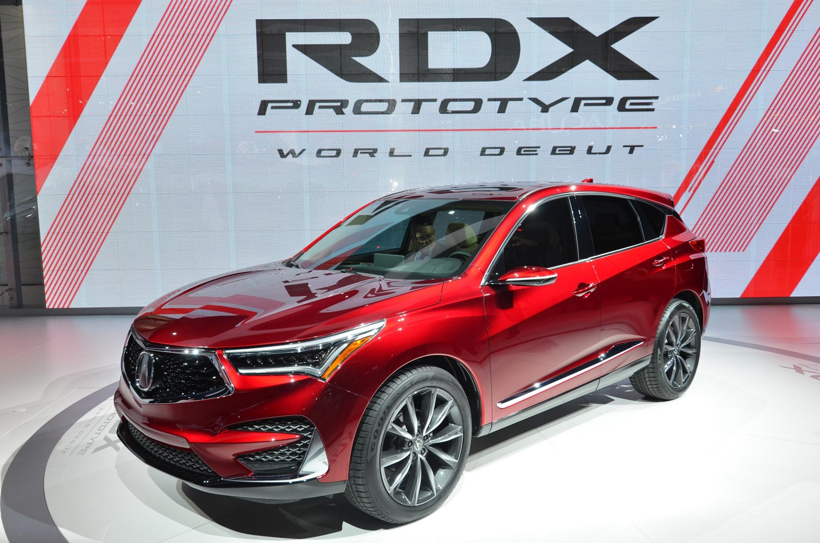 2019 Acura Rdx Prototype Looks Good From The Front In Detroit