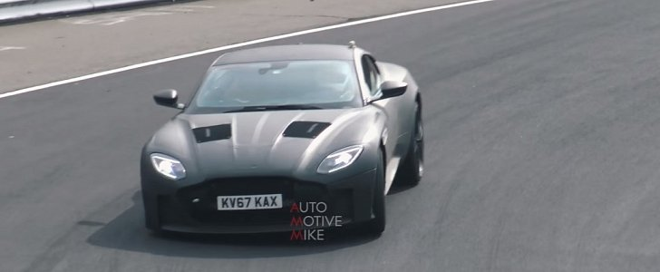 2019 Aston Martin DBS Superleggera Sounds Like Rolling Thunder