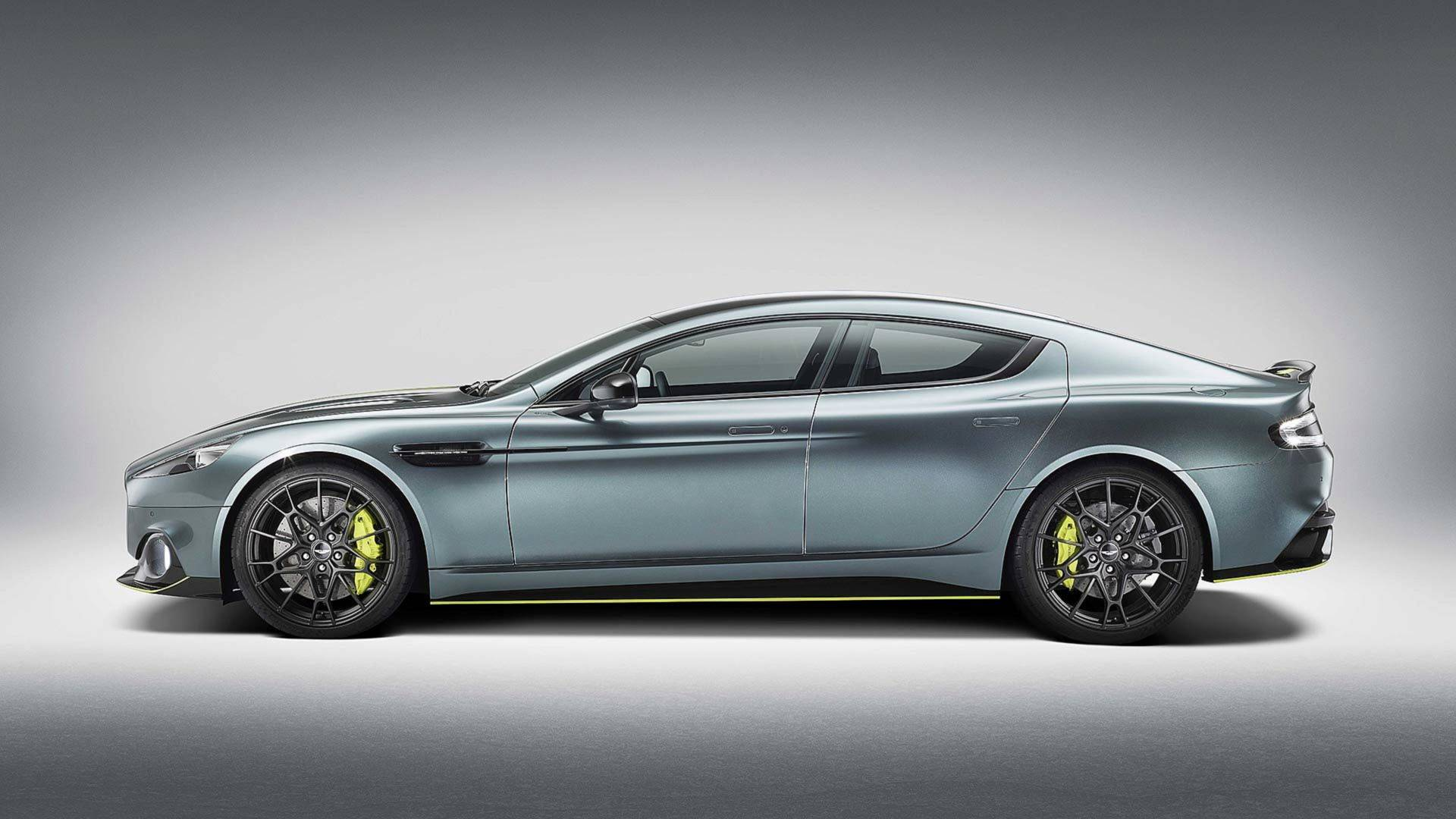 Aston Martin Rapide AMR Revealed With PS Autoevolution - Aston martin rapide