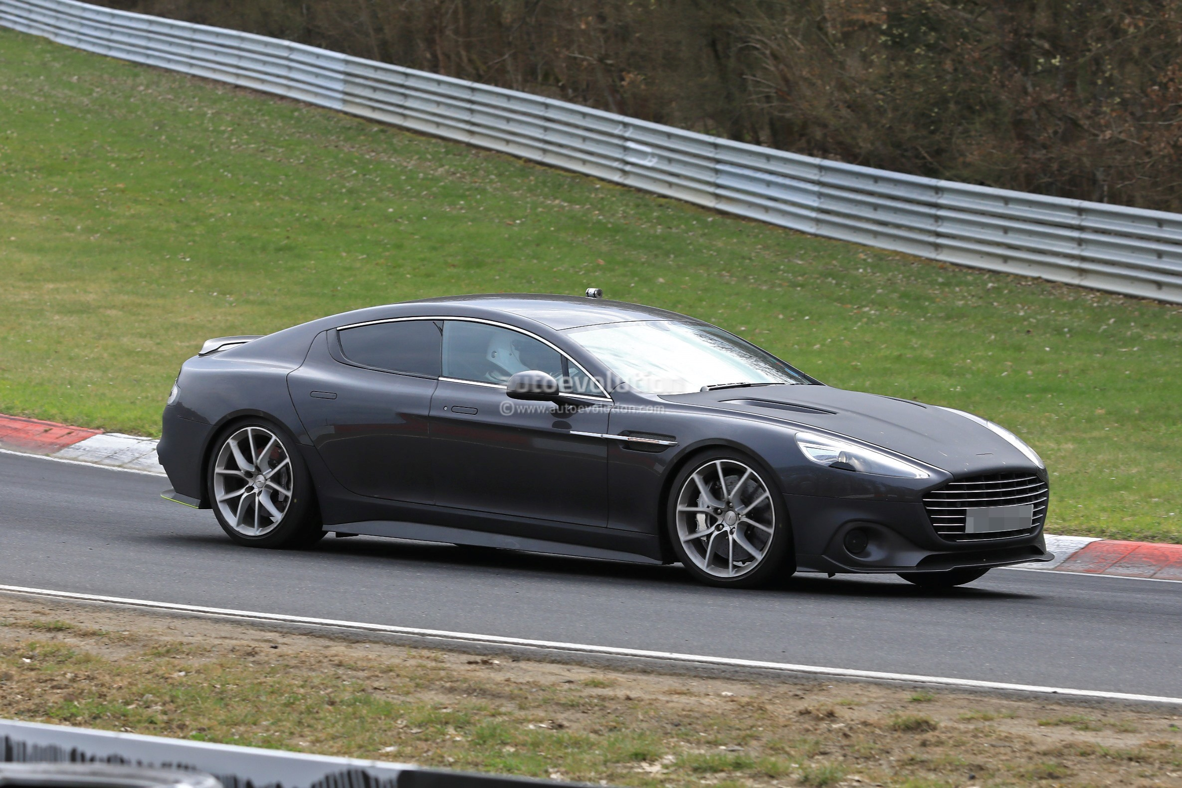 2019 Aston Martin Rapide Amr Spied World S Fastest Sedan Looks