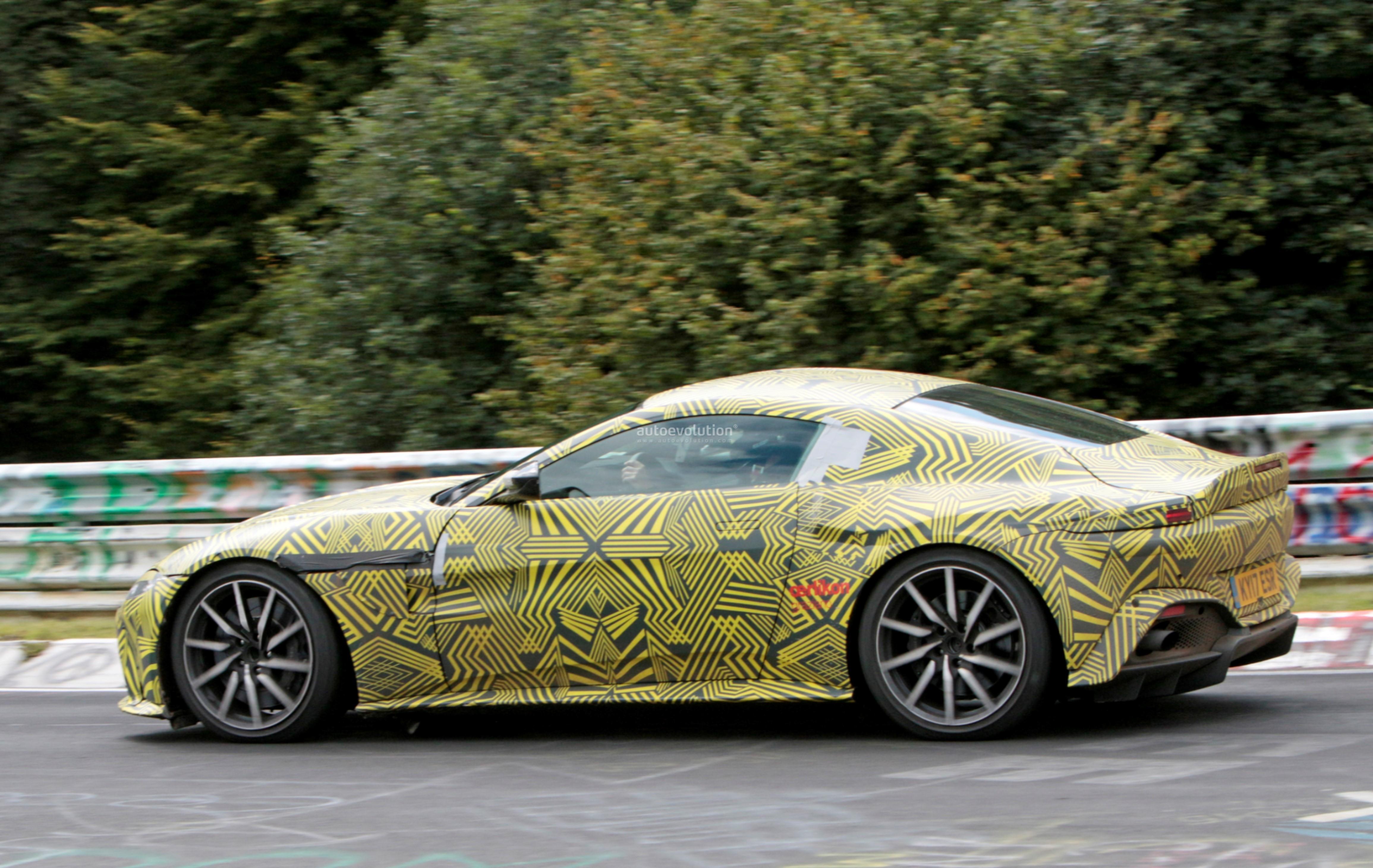 2019 Aston Martin V8 Vantage Driven Hard On The Nurburgring In
