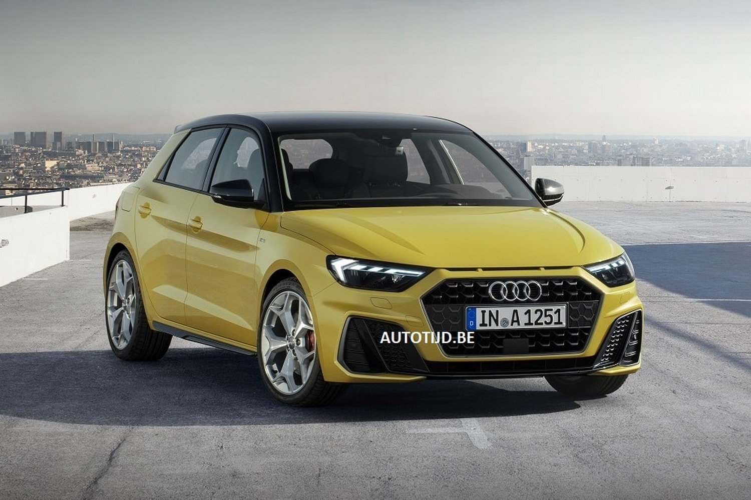 2019 Audi A1 Leaked Official Photos Reveal Sporty Design Autoevolution