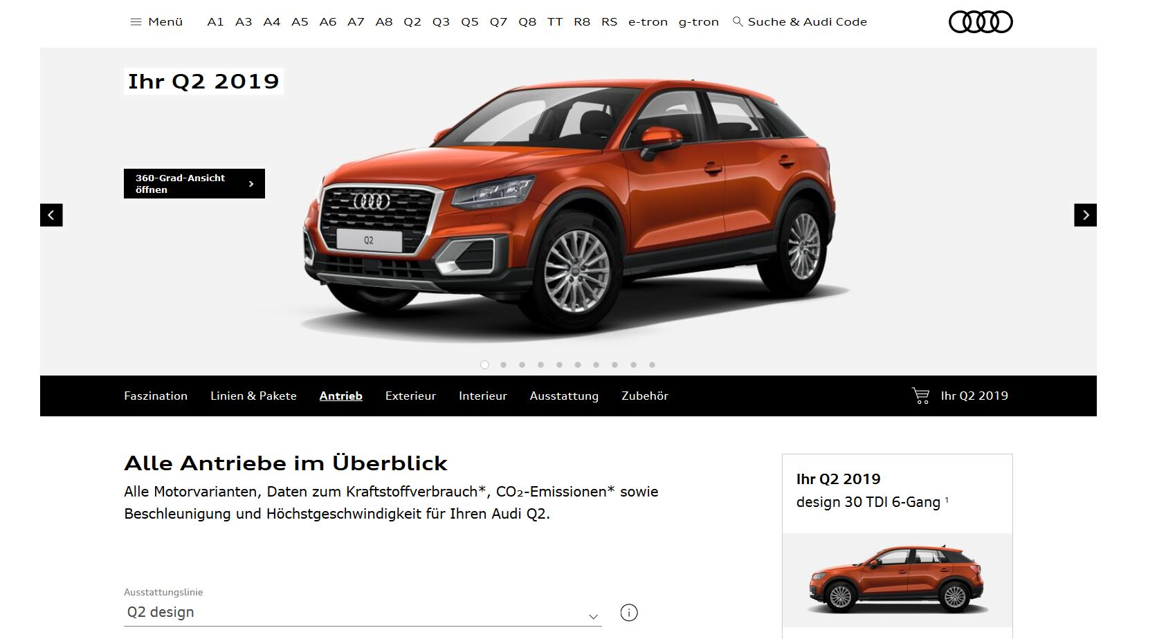 2019 Audi A3 and Q2 on Sale in Germany With Much Smaller Engine