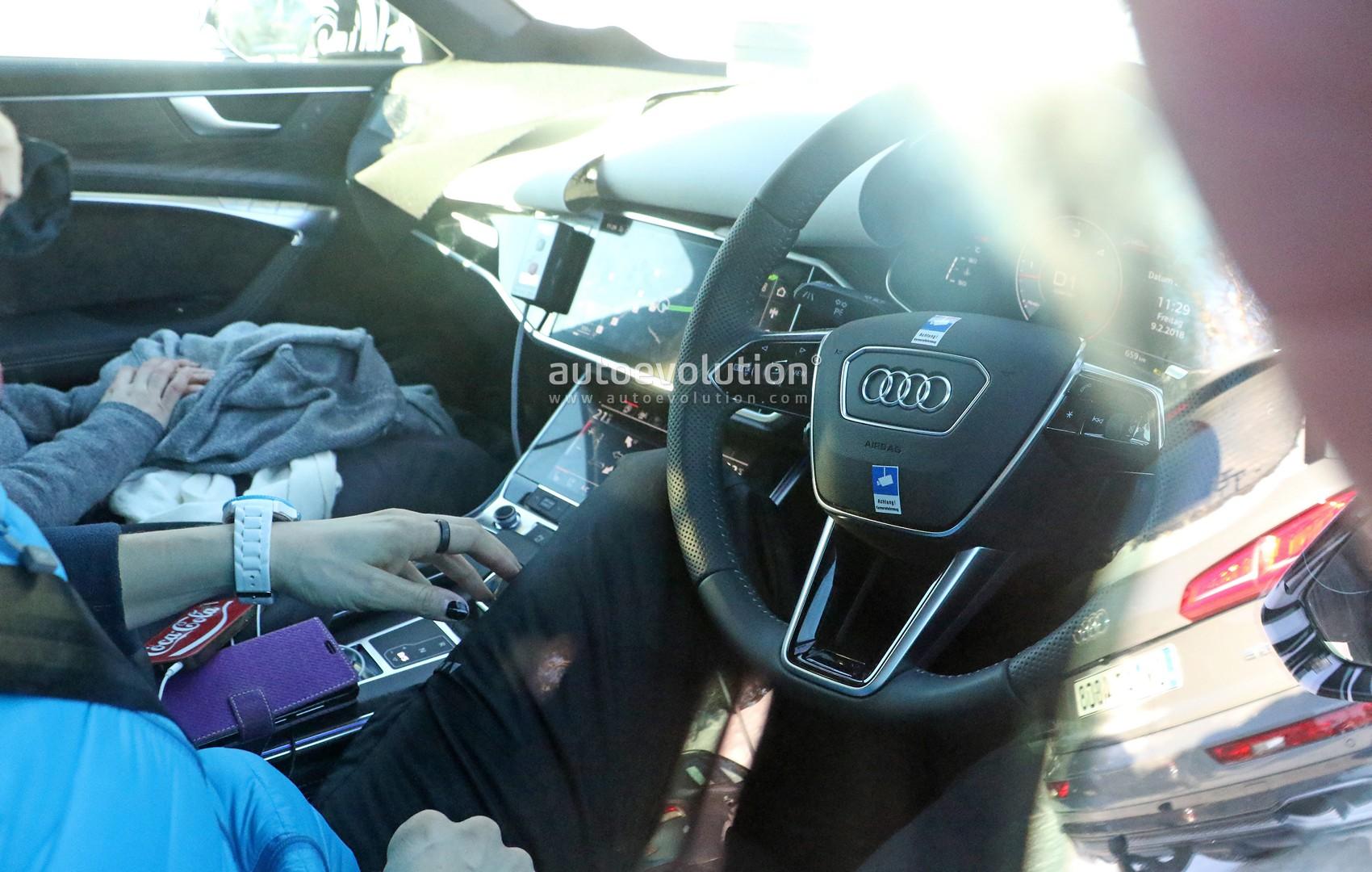 2019 Audi A6 Avant Interior Revealed: It\'s a Screen Fiesta ...